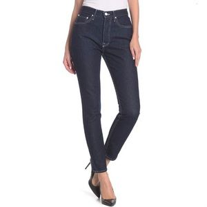 NWT Grlfrnd Karolina High Rise Skinny Jean Blue 27
